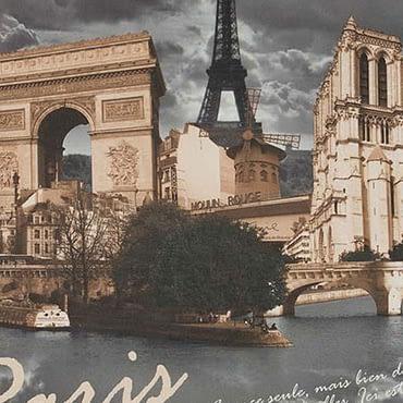 Paris 007 grey