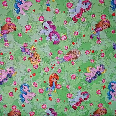 Pony 005 green