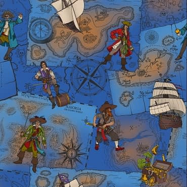 Pirates Blue